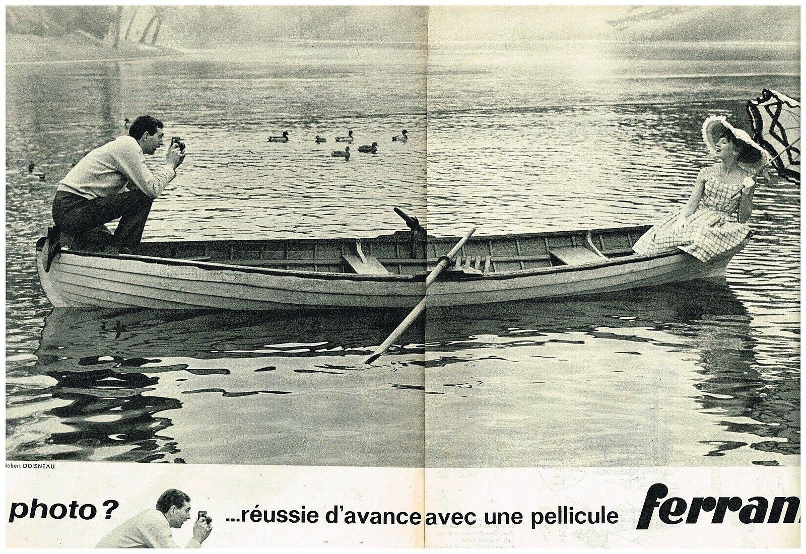 1962 Pellicules Ferrania Robert Doisneau