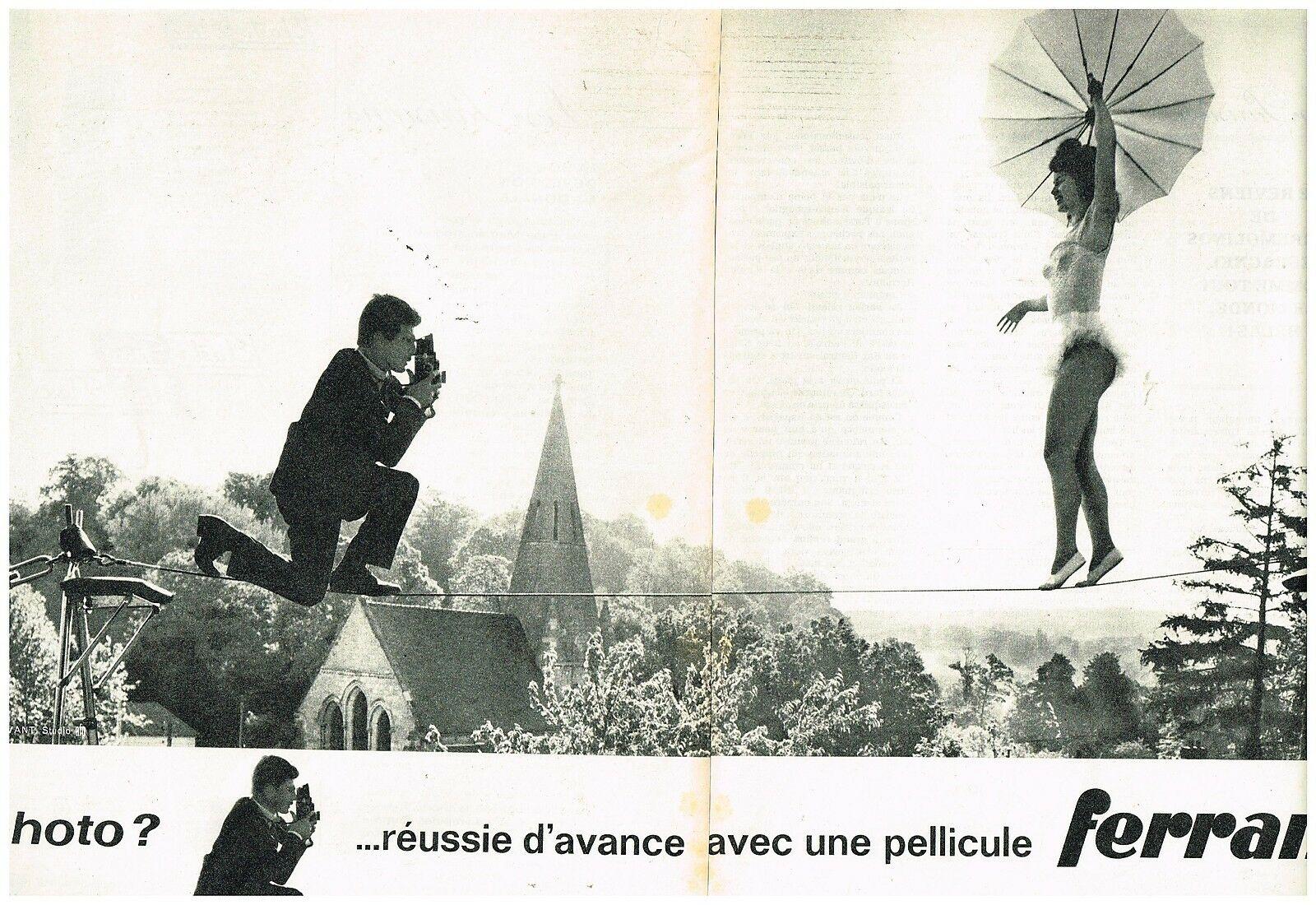 1962 Pellicules Ferrania par Jean Servant