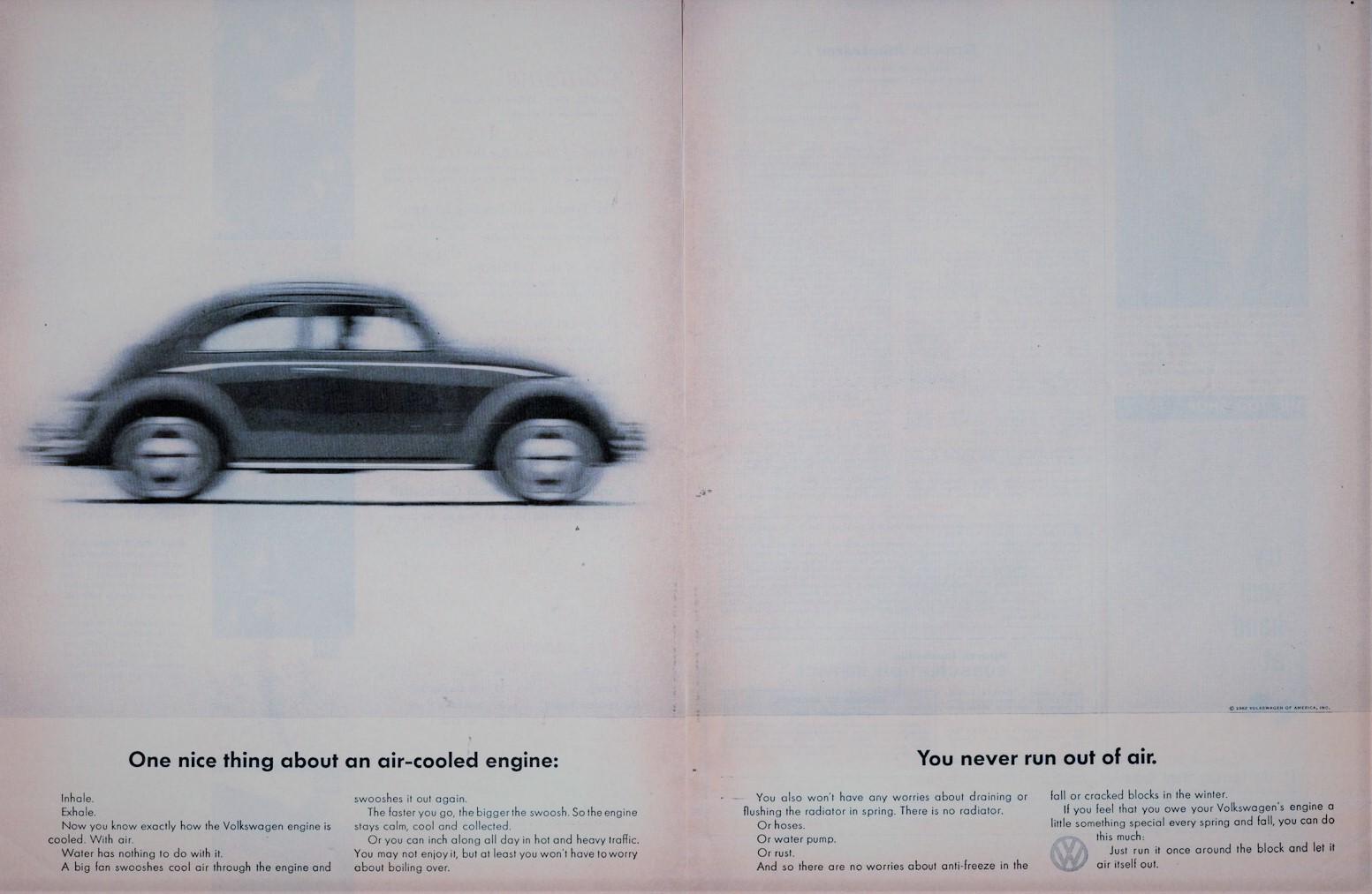 1962 Volkswagen Type 1 Un avantage du refoidissement à air vous n'en manquerez jamais
