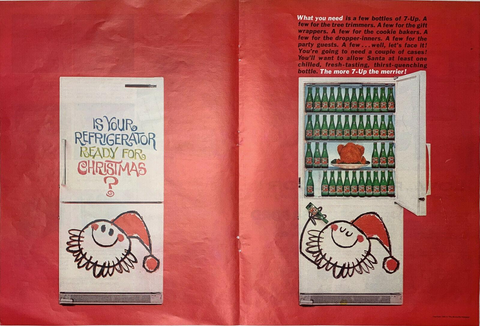 1963 7-Up Christmas