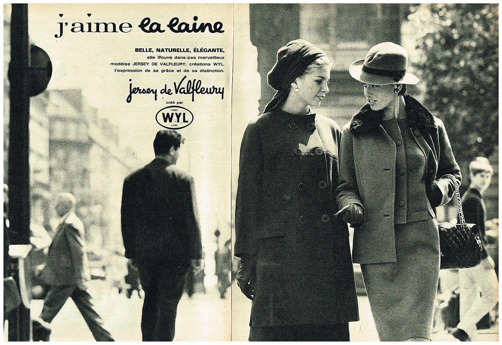 1964 Pret à porter Jersey de Valfleury