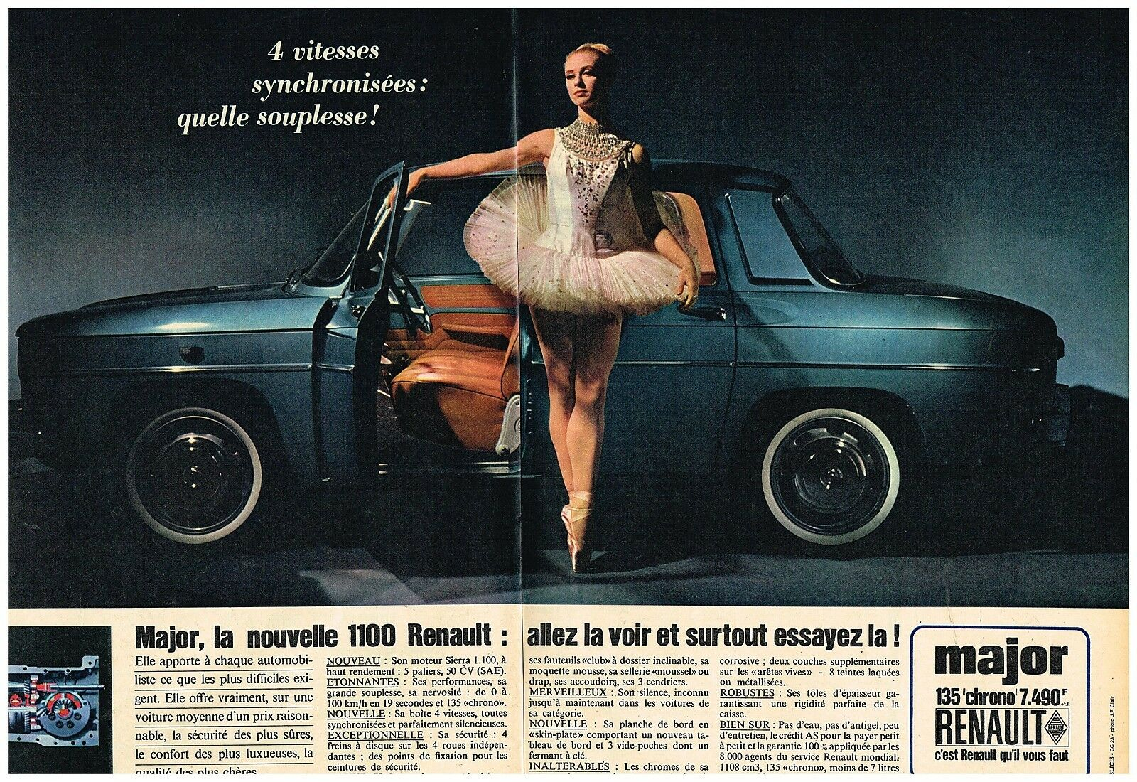 1964 Renault 1100 Major