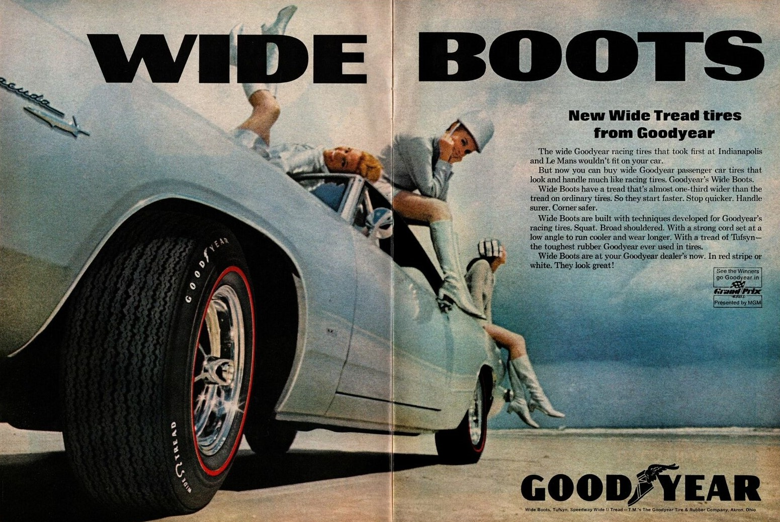 1967 GOODYEAR Z1 Tires Plymouth Barracuda