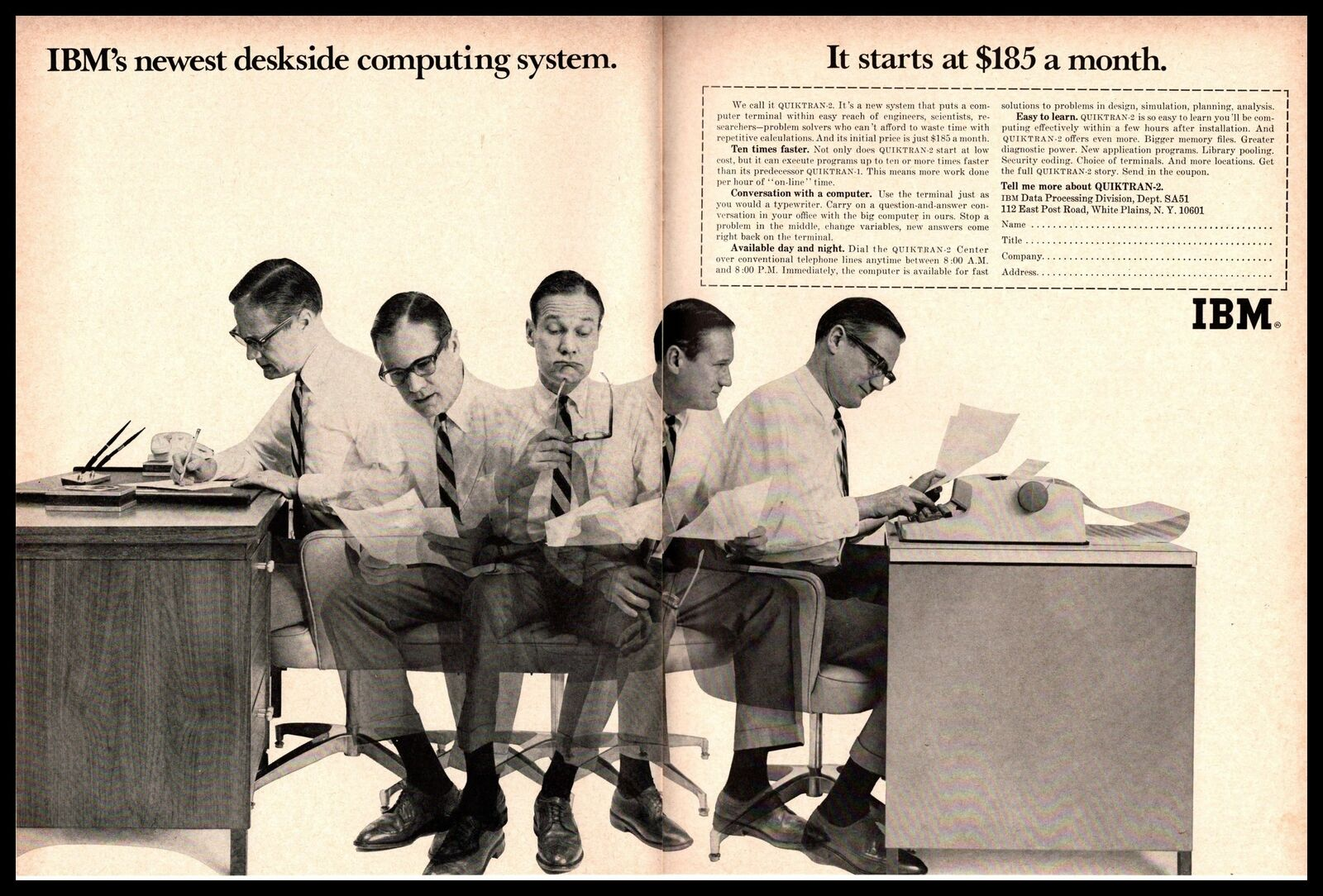 1967 IBM quiktran 2