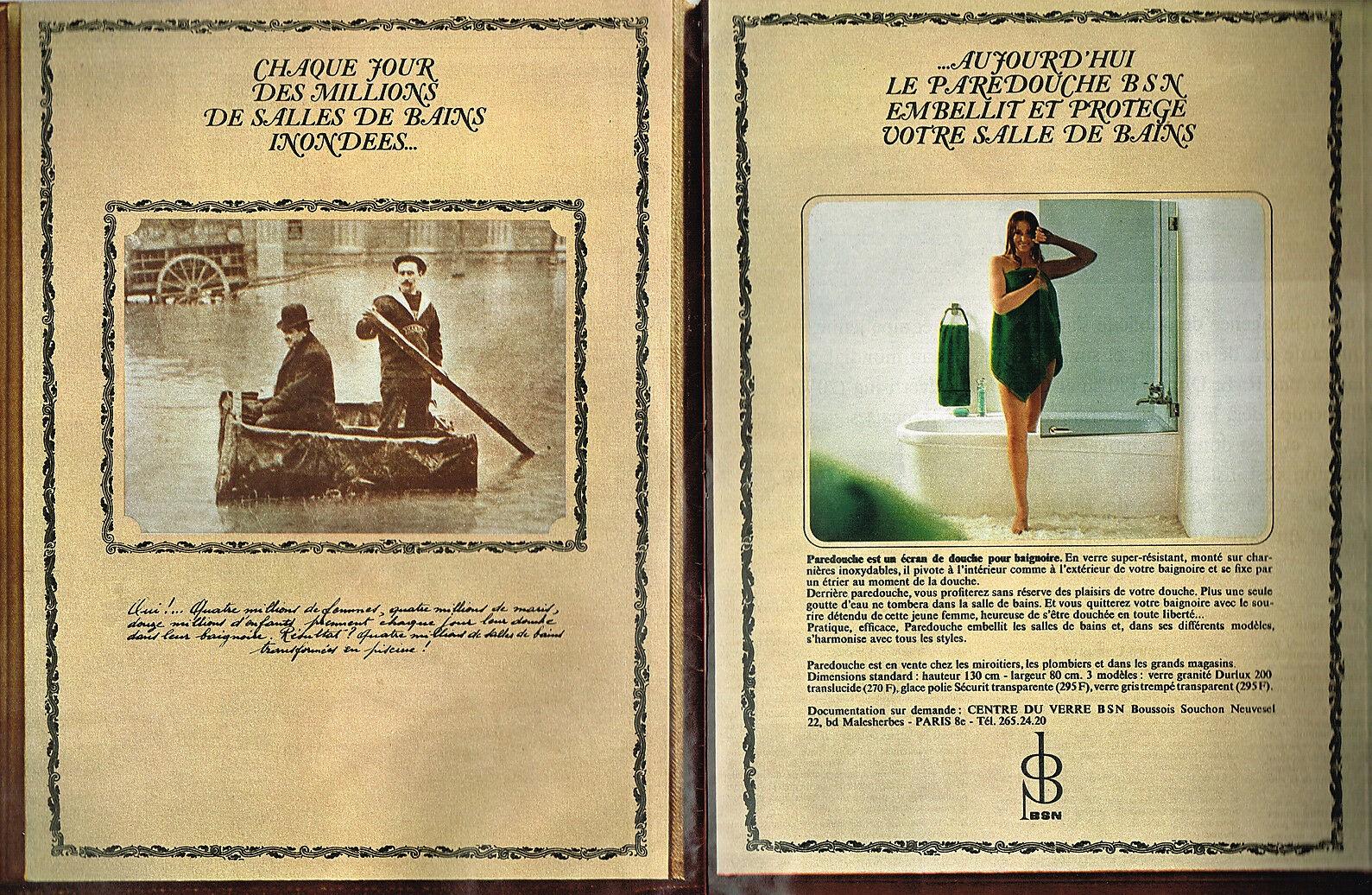 1968 BSN pare douche