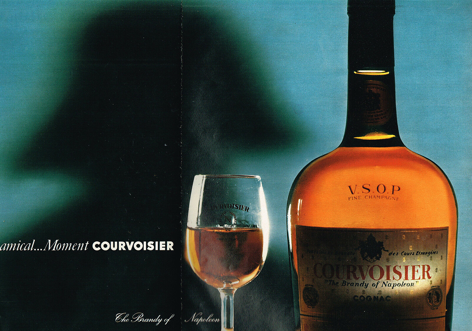 1968 COURVOISIER THE BRANDY OF NAPOLEONjpg