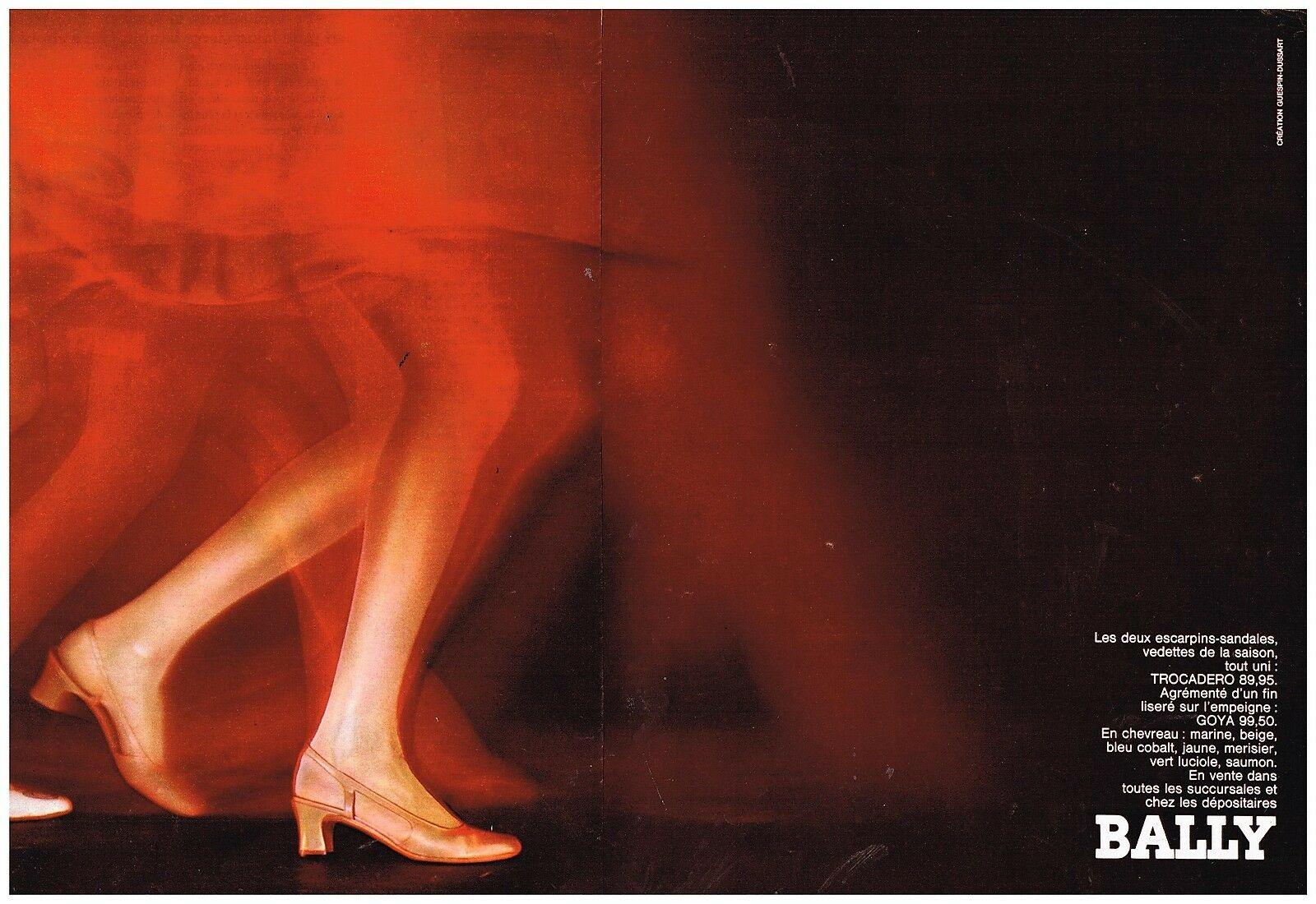 1968 Chaussures Bally par Guespin