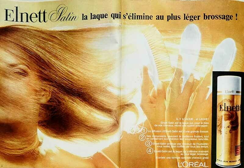 1968, ELNETT L'OREAL