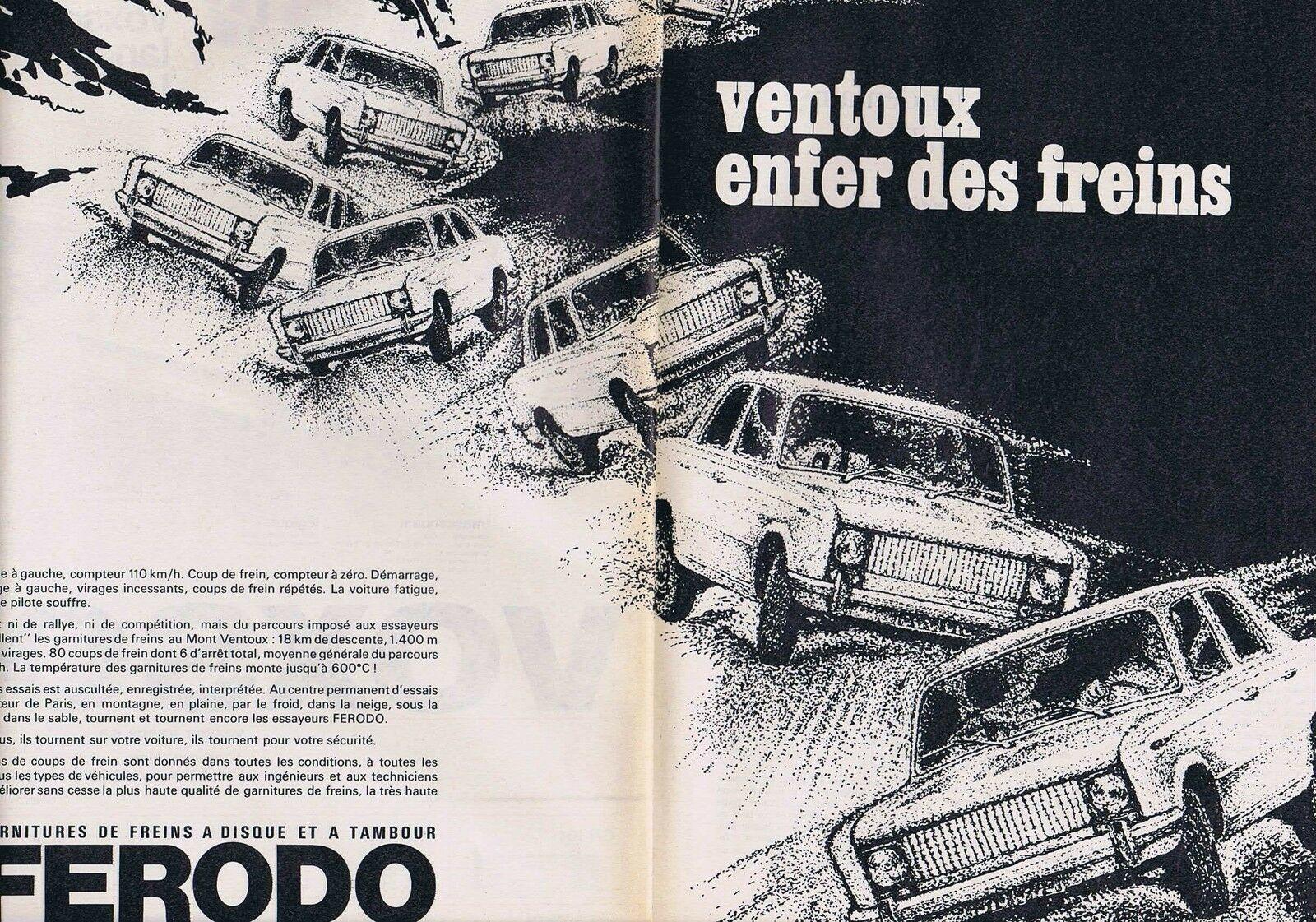 1968 Ferrodo Le Ventoux enfer des freins