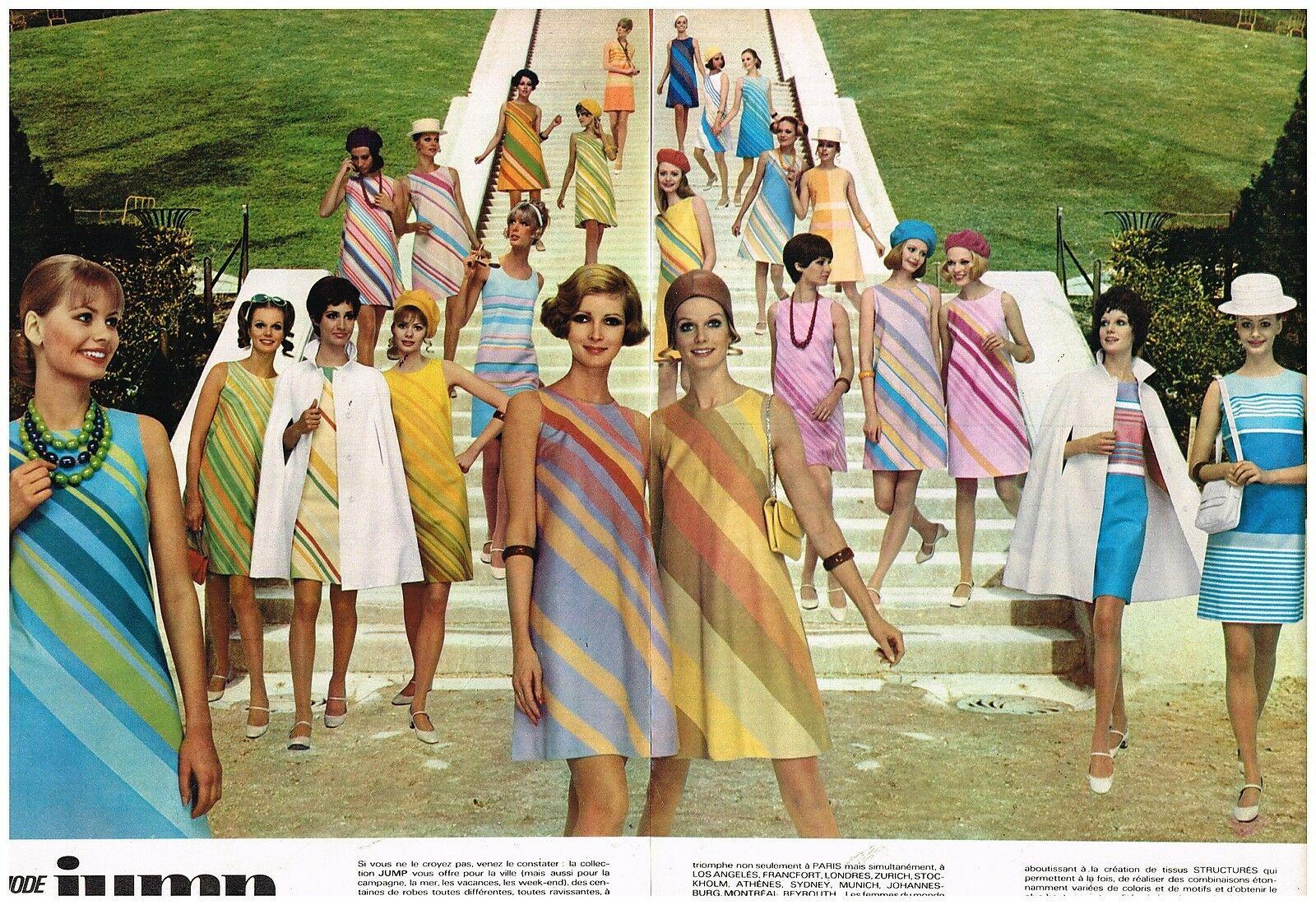 1968 Pret à porter Robes Jump