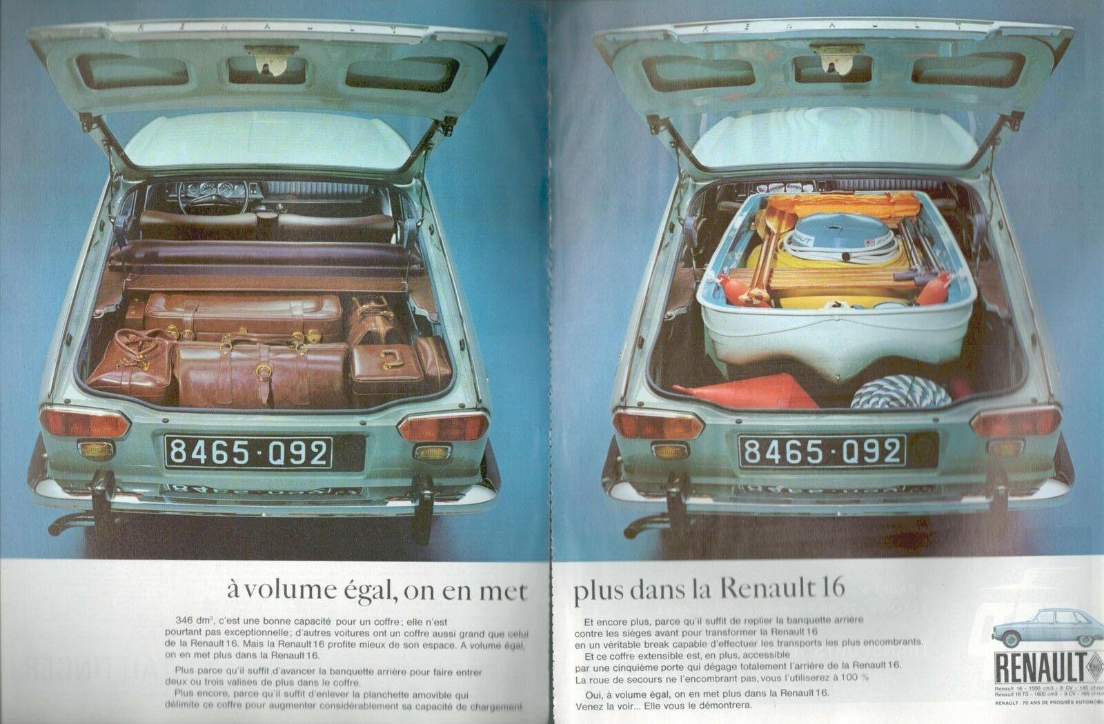1968, RENAULT 16