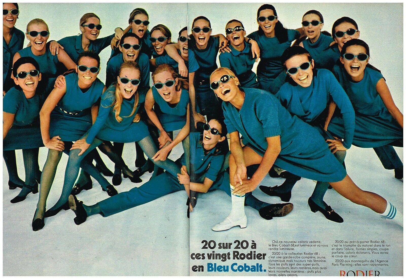 1968 RODIER Bleu Cobalt