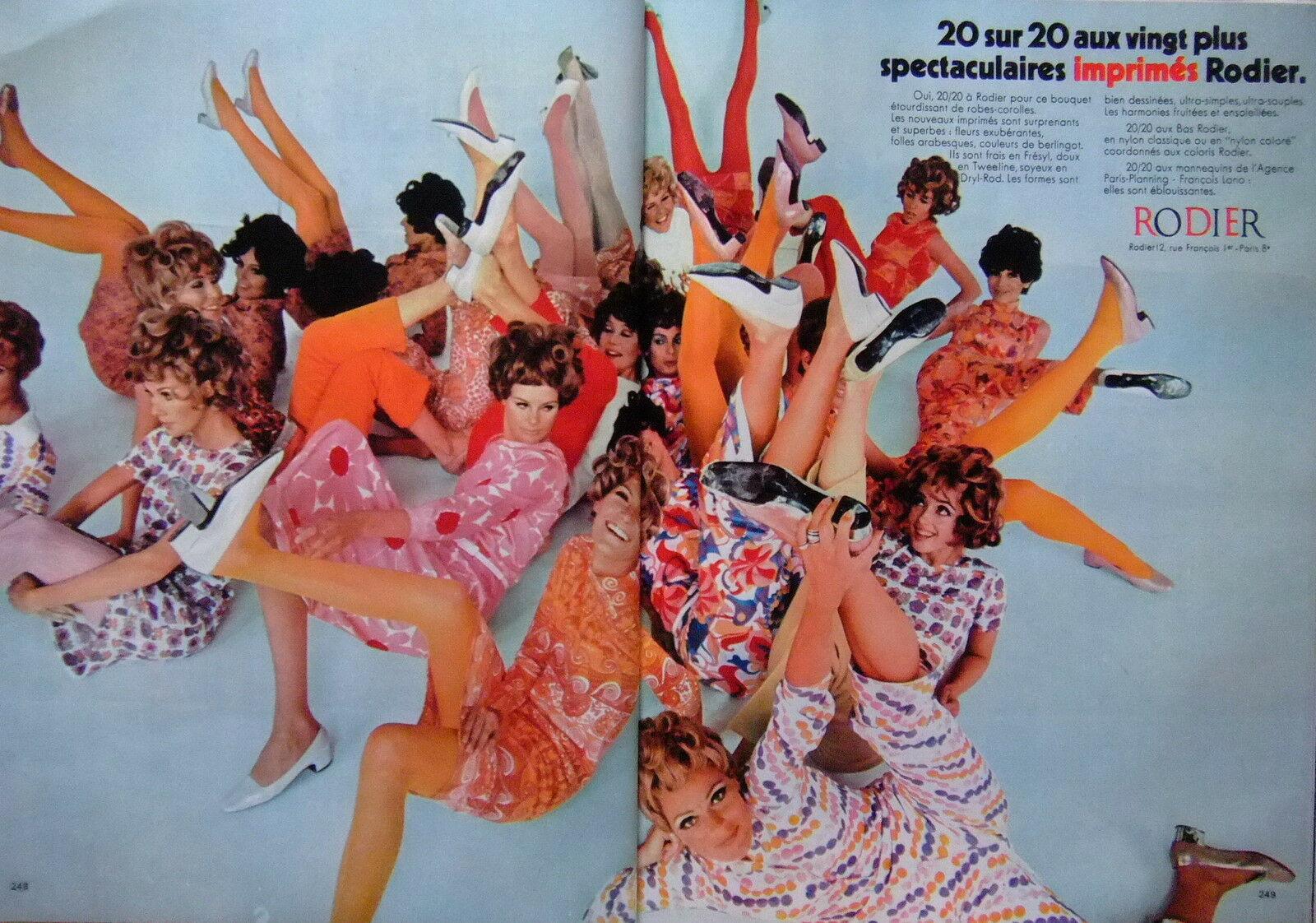 1968 RODIER Imprimes