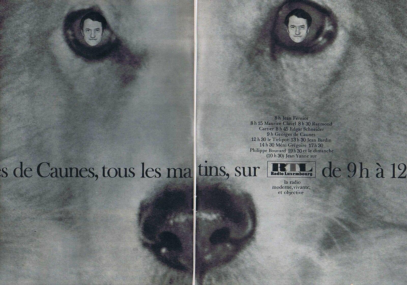 1968 RTL radio Georges de Caunes