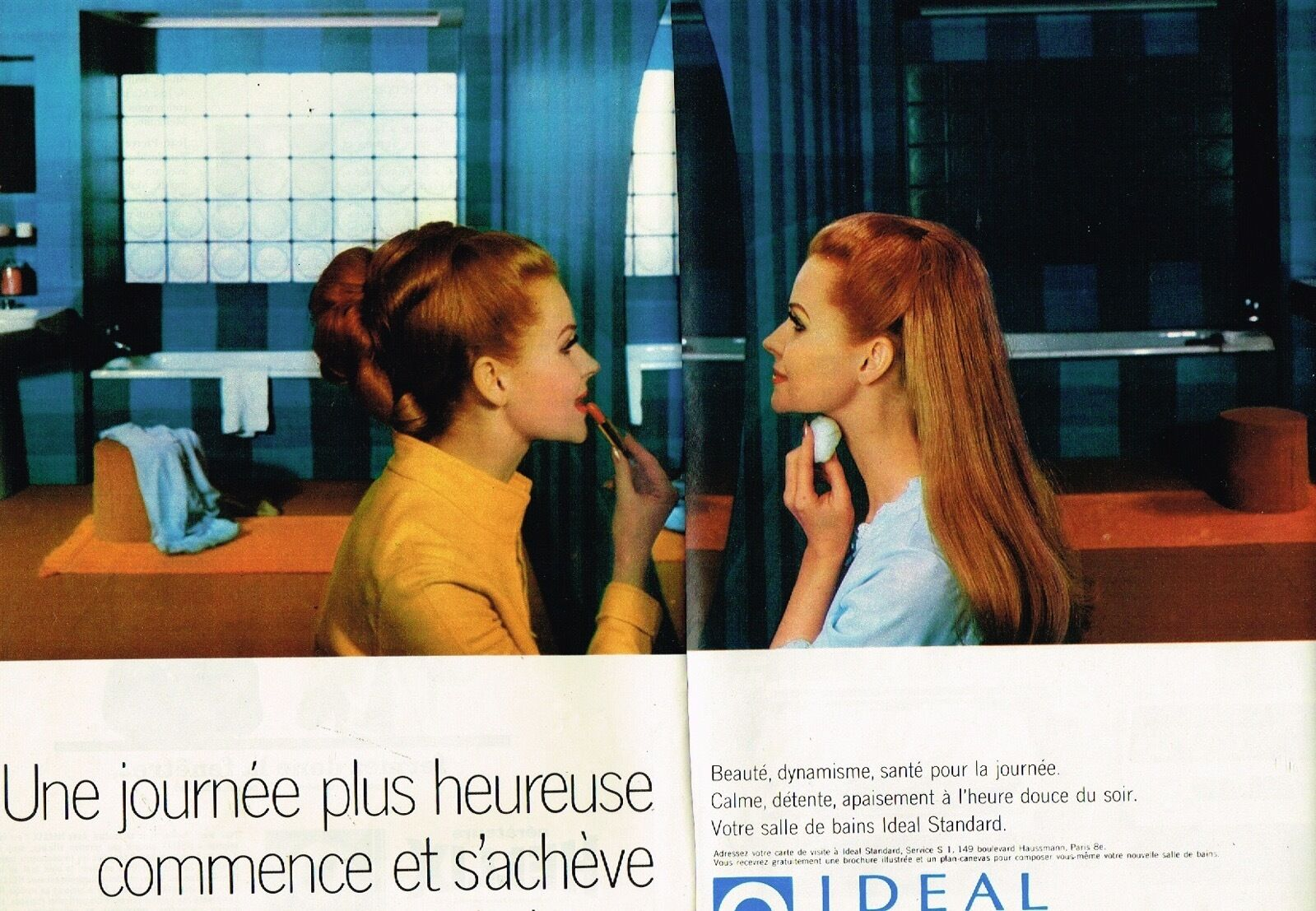 1968 Salle de Bain Ideal Standard