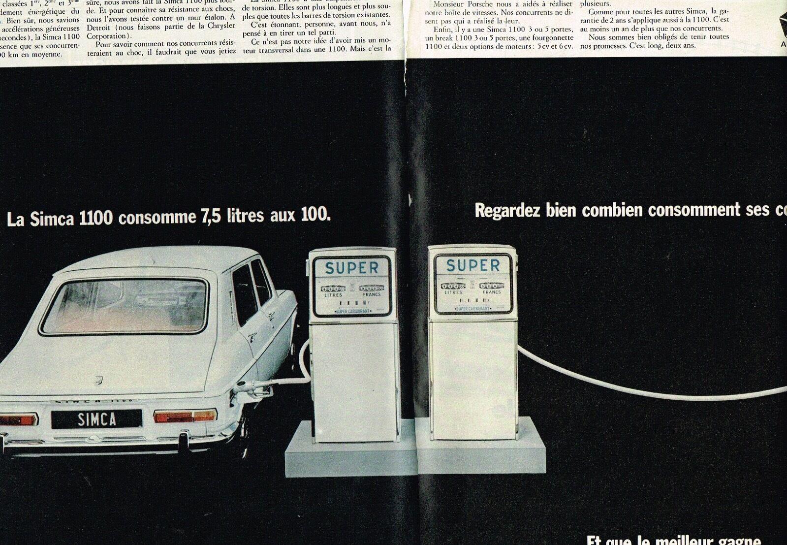 1968 Simca 1100