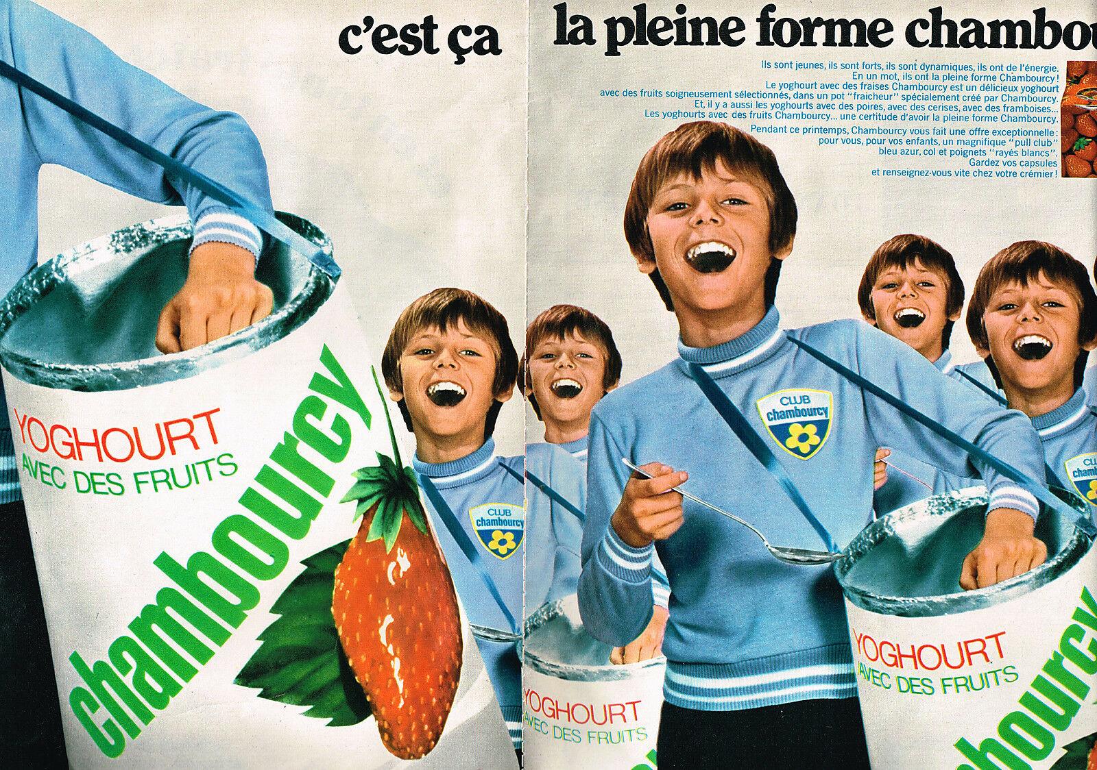 1969 CHAMBOURCY garcons