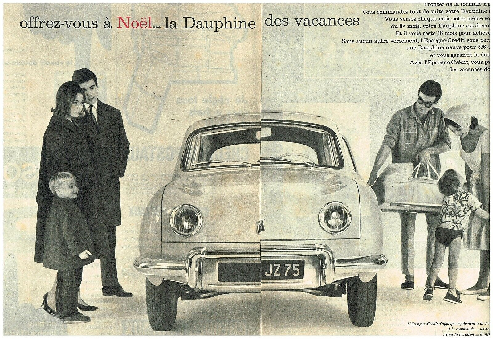 1969 Renault Dauphine