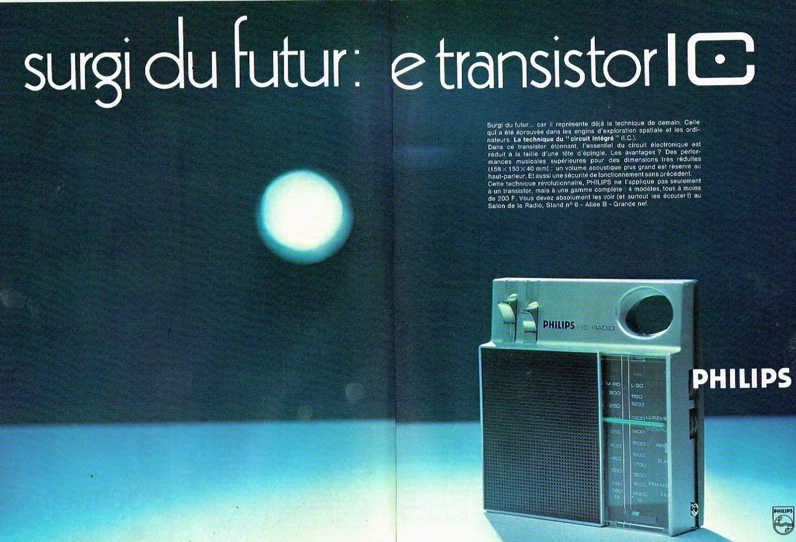 1969 Transistor Philips IC