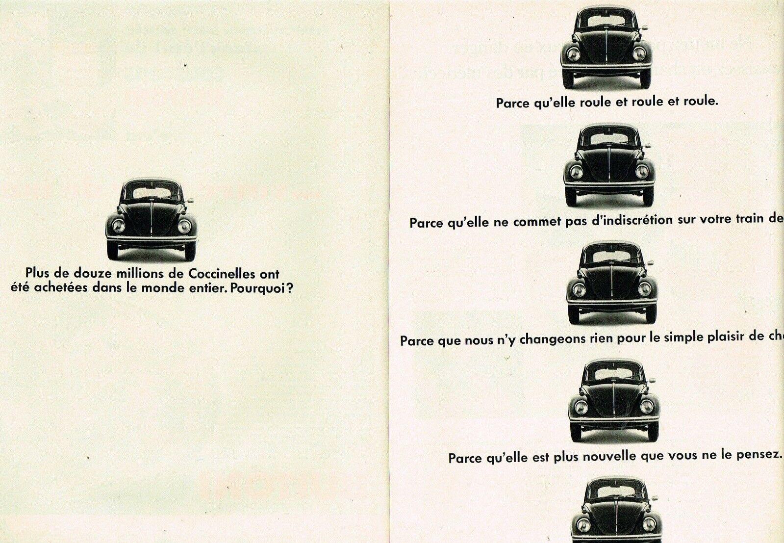 1969 Volkswagen Coccinelle