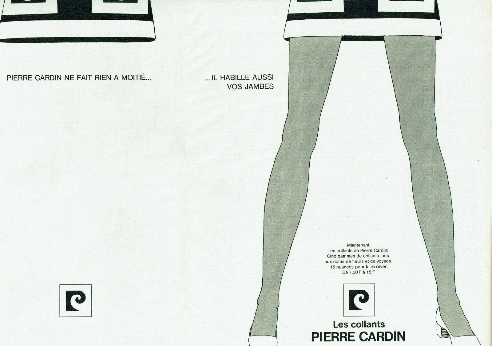 1969 collants Pierre Cardin