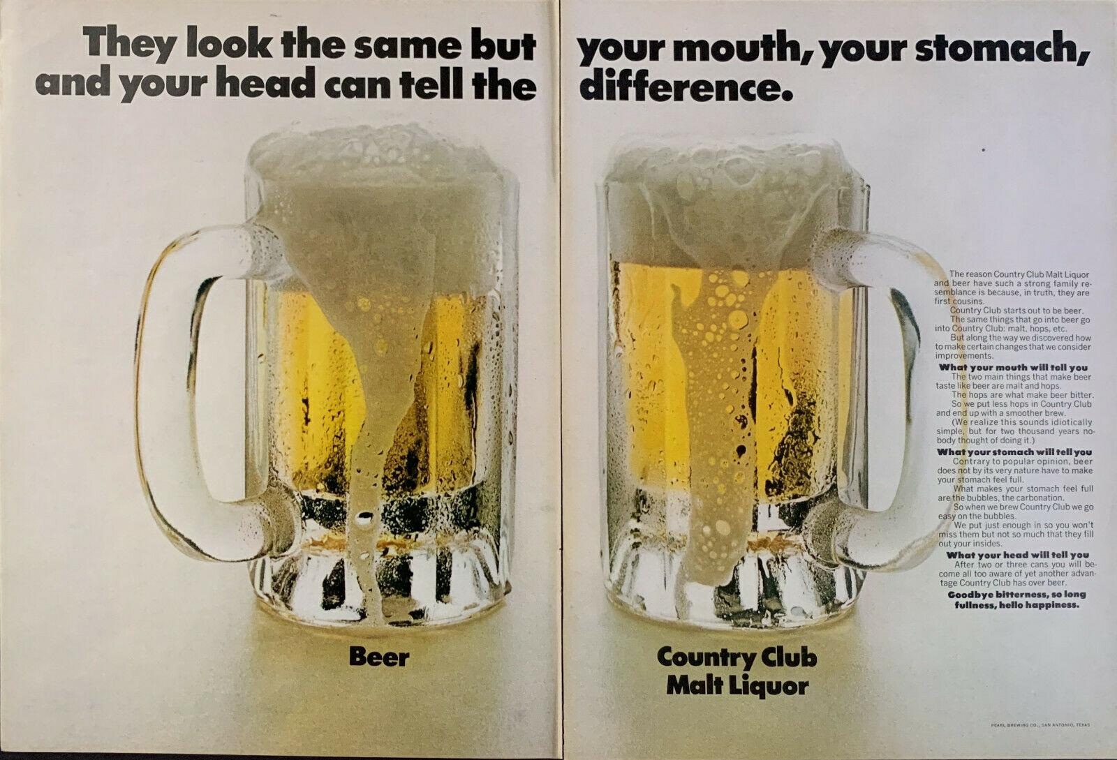 1970 Country Club Malt