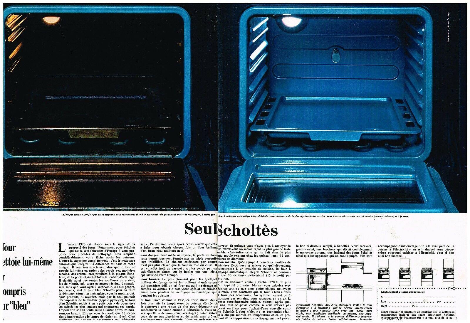 1970 Le Four Bleu Scholtes