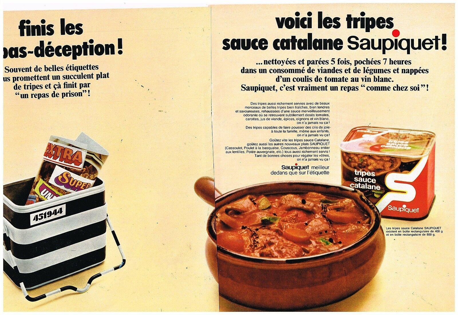 1970 Saupiquet Tripes sauce catalane