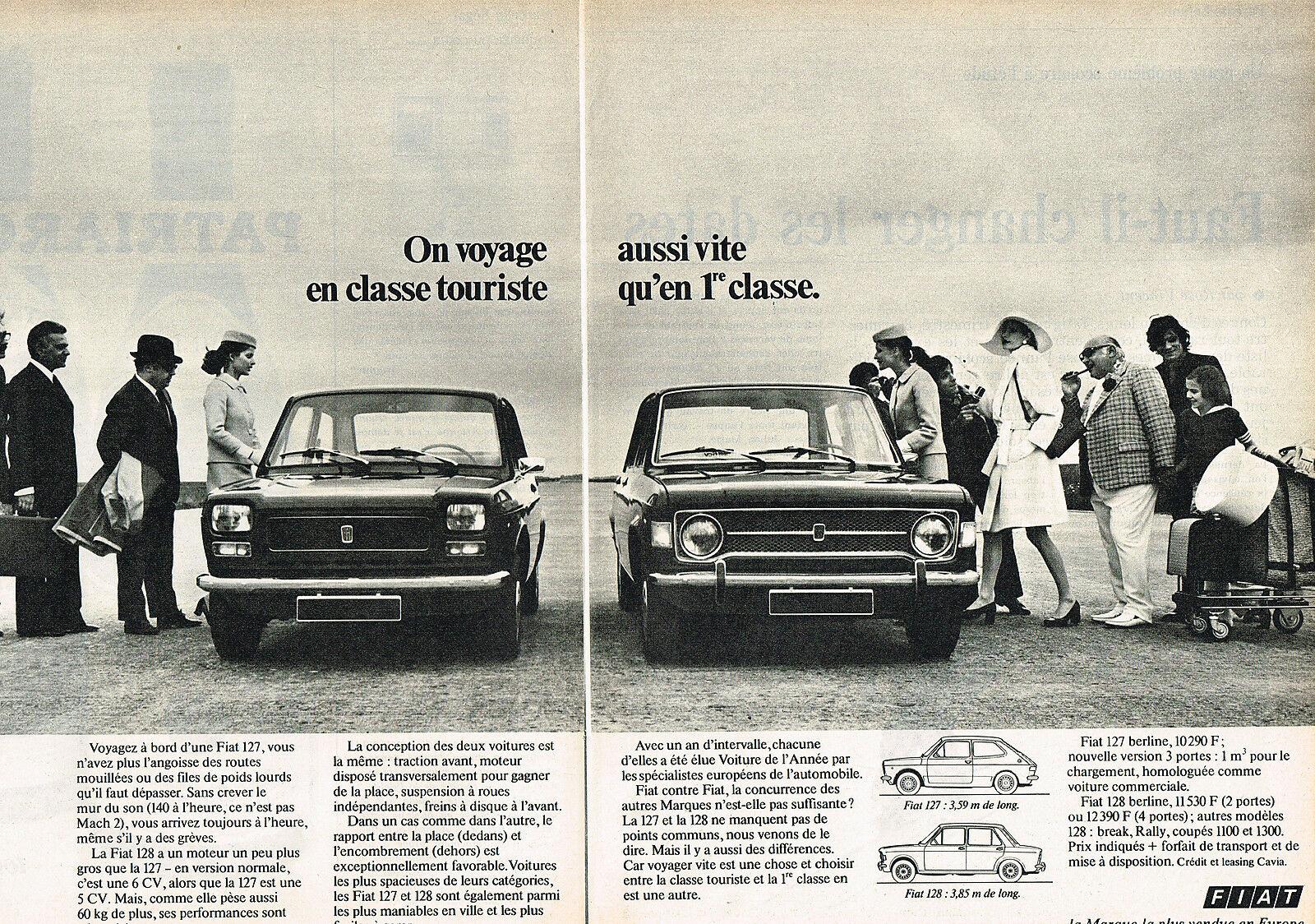 1972 FIAT 127 et 128
