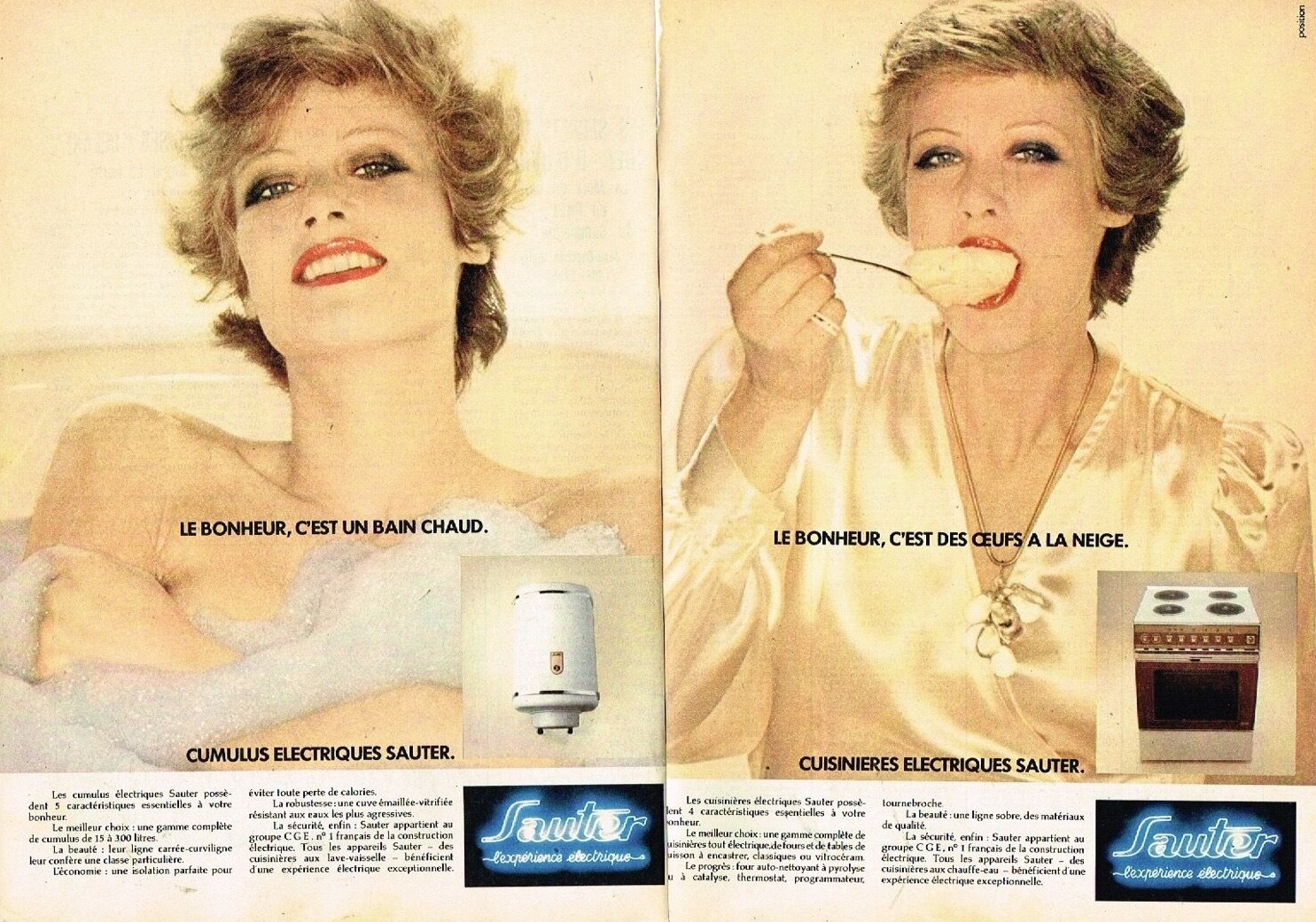 1974 Cumulus et Cuisiniere Sauter