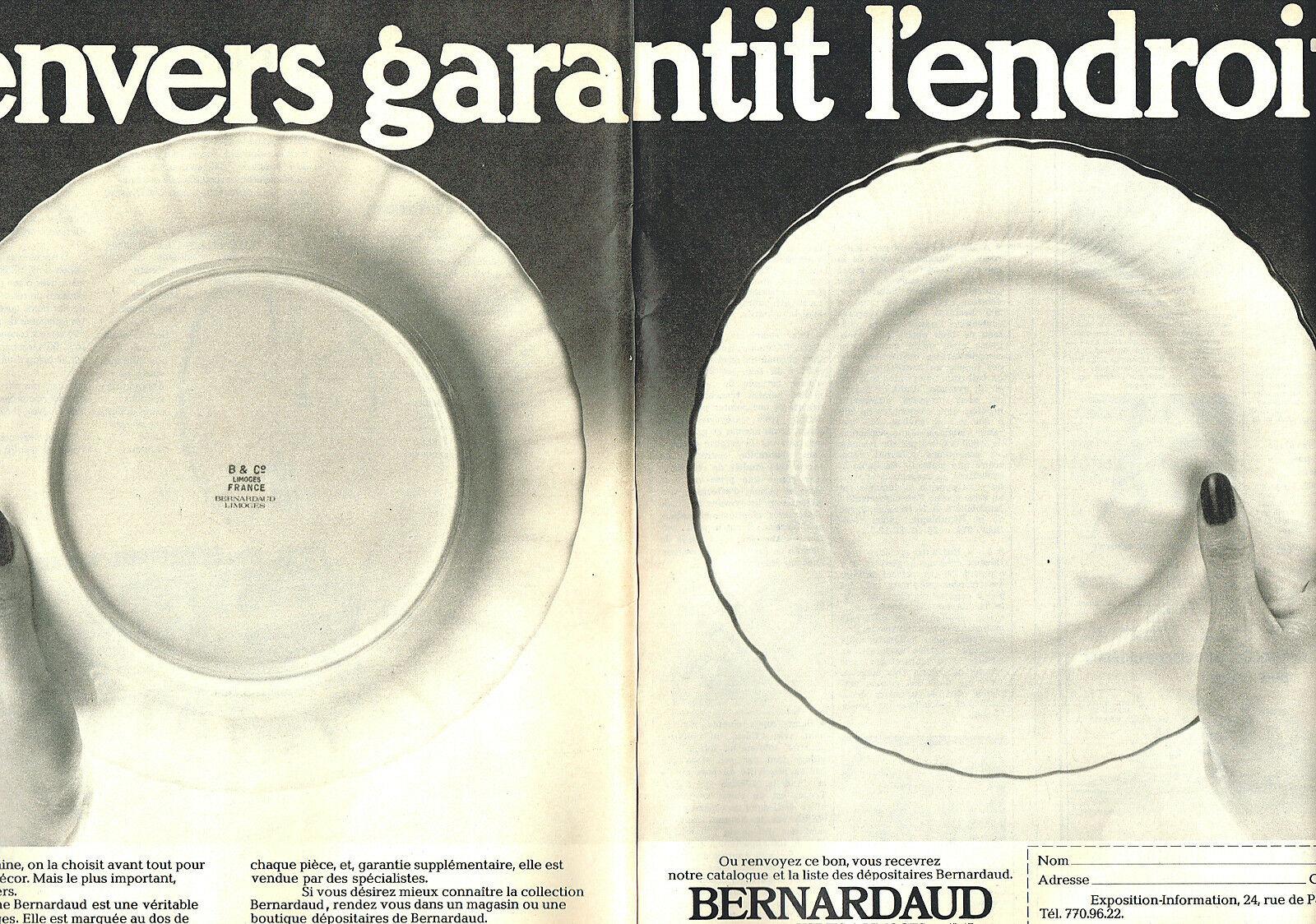 1976 PORCELAINES BERNARDAUD