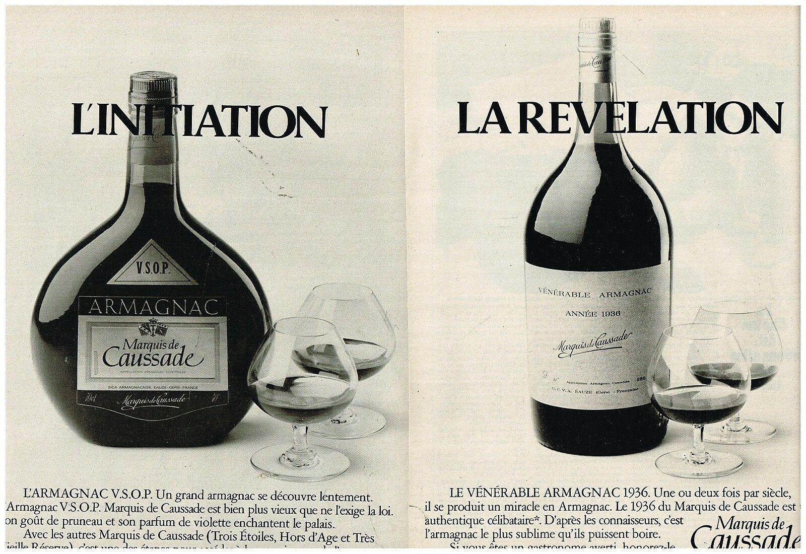 1977 Les Armagnacs Marquis de Caussade
