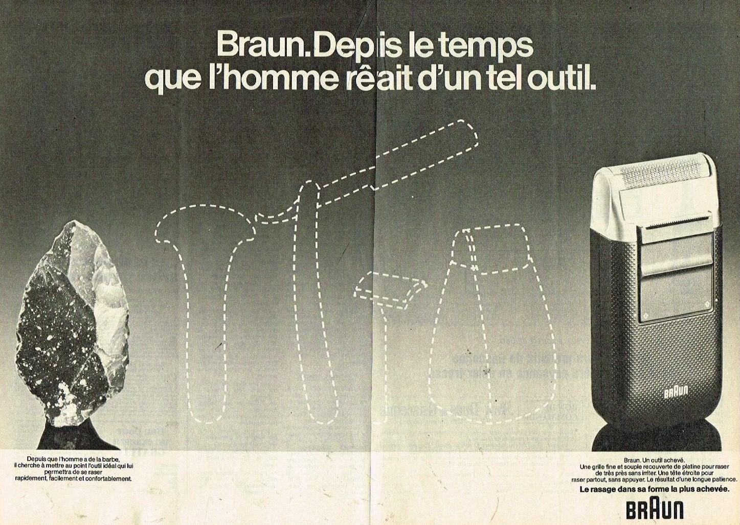 1978 Le rasoir Braun