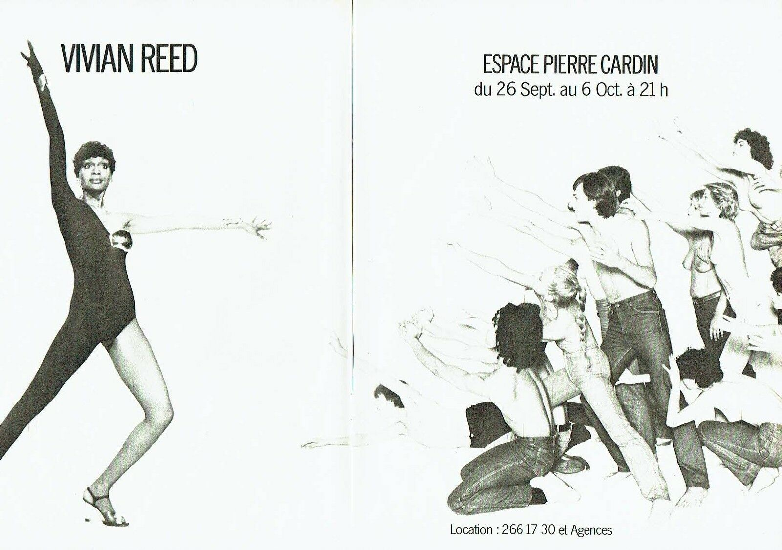1979 Espace Pierre Cardin Vivian Reed