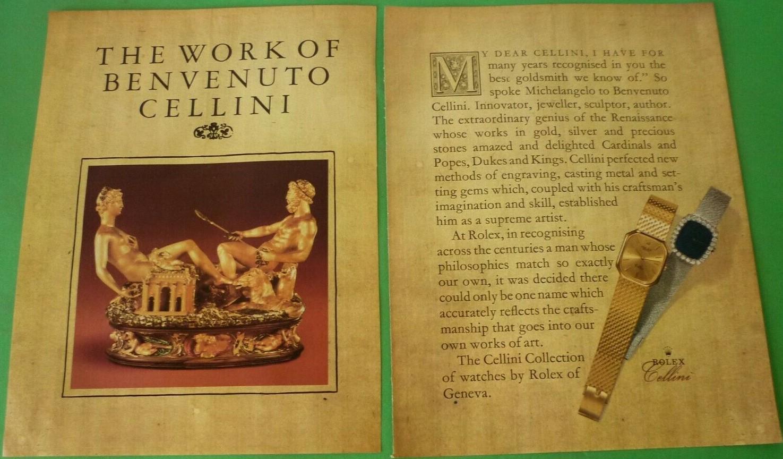 1980 Rolex Cellini A