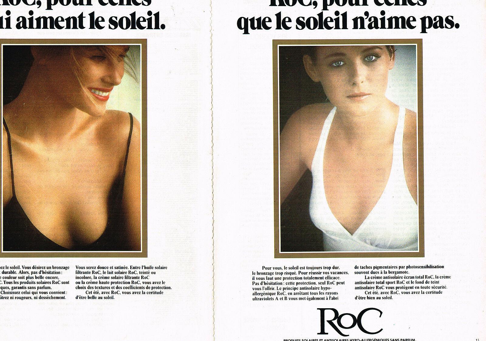 1981 ROC cosmetiques solaires