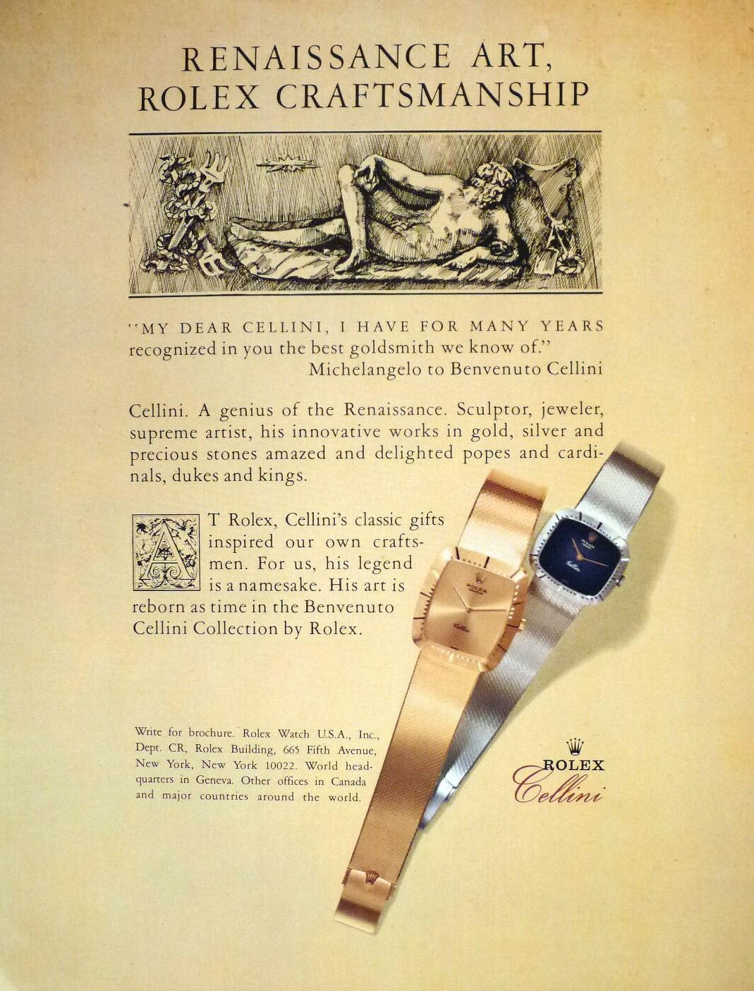 1981 Rolex Cellini A3
