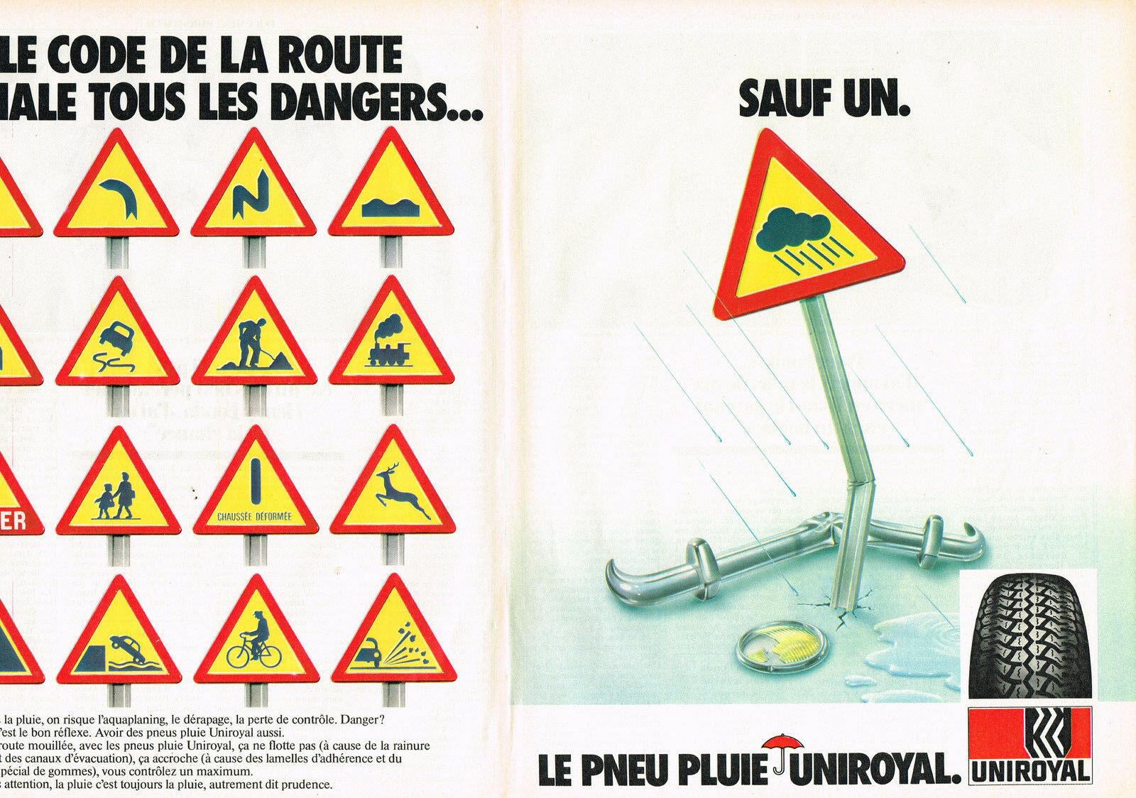 1981 UNIROYAL pneus