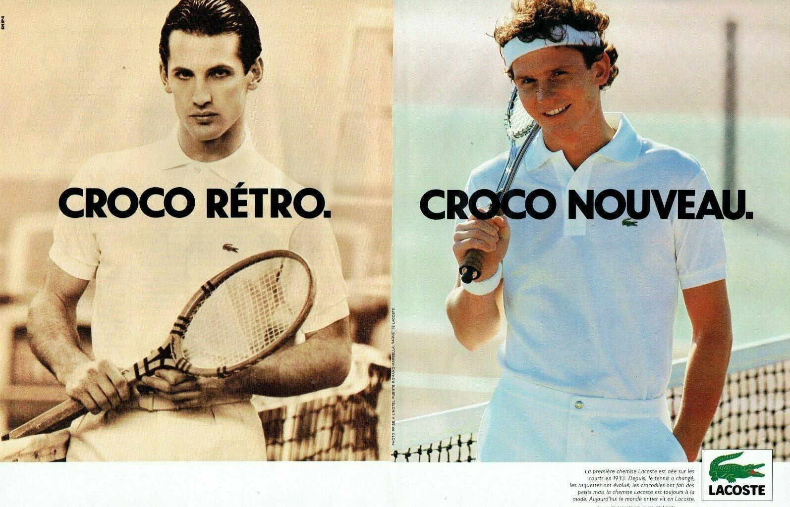 1981 les polos tennis Lacoste A1