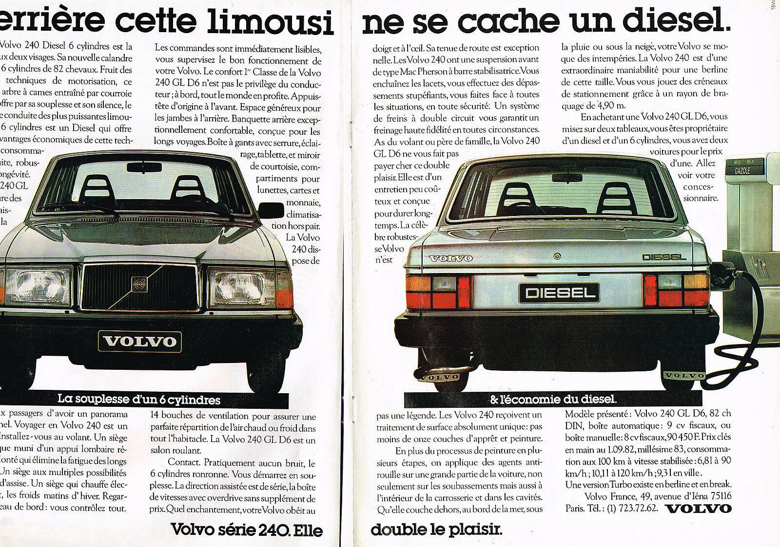 1982 VOLVO 240 GL D6