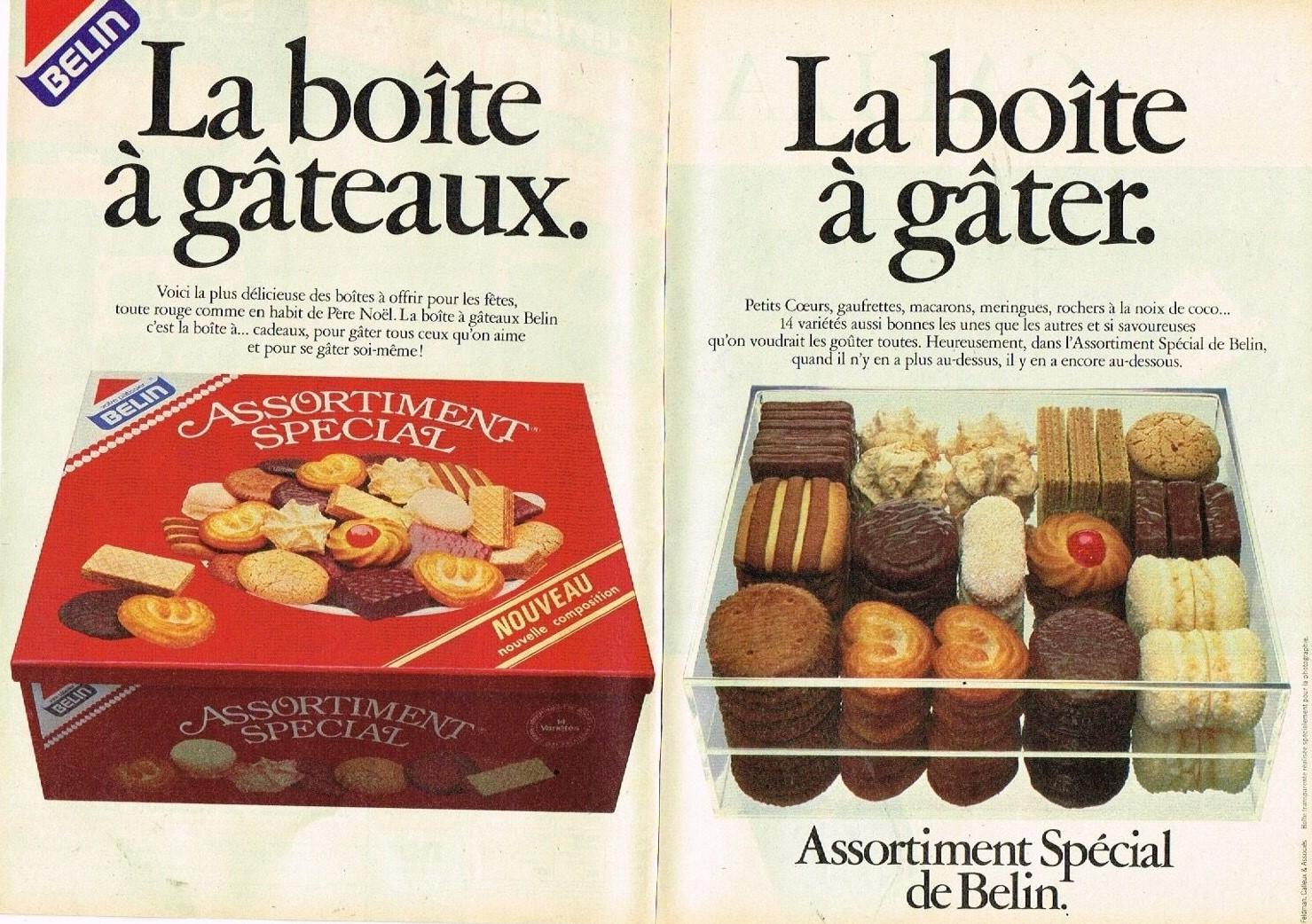 1983 Les Biscuits Assortiment spécial Belin