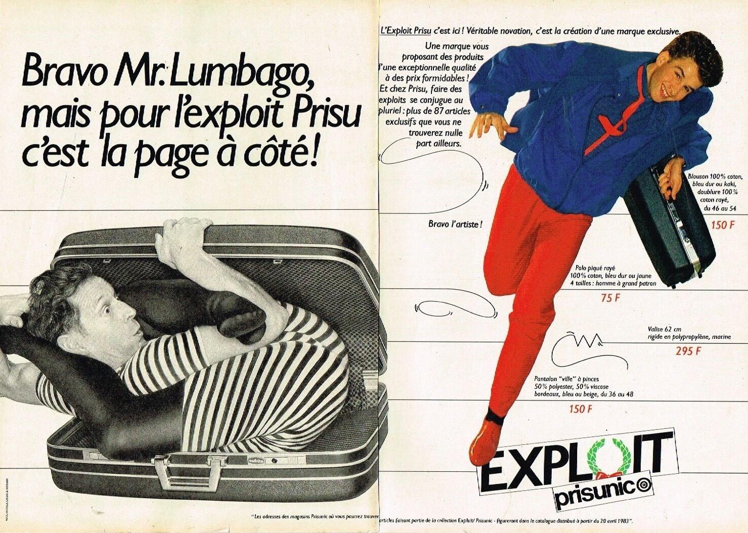 1983 Pret a porter Prisunic