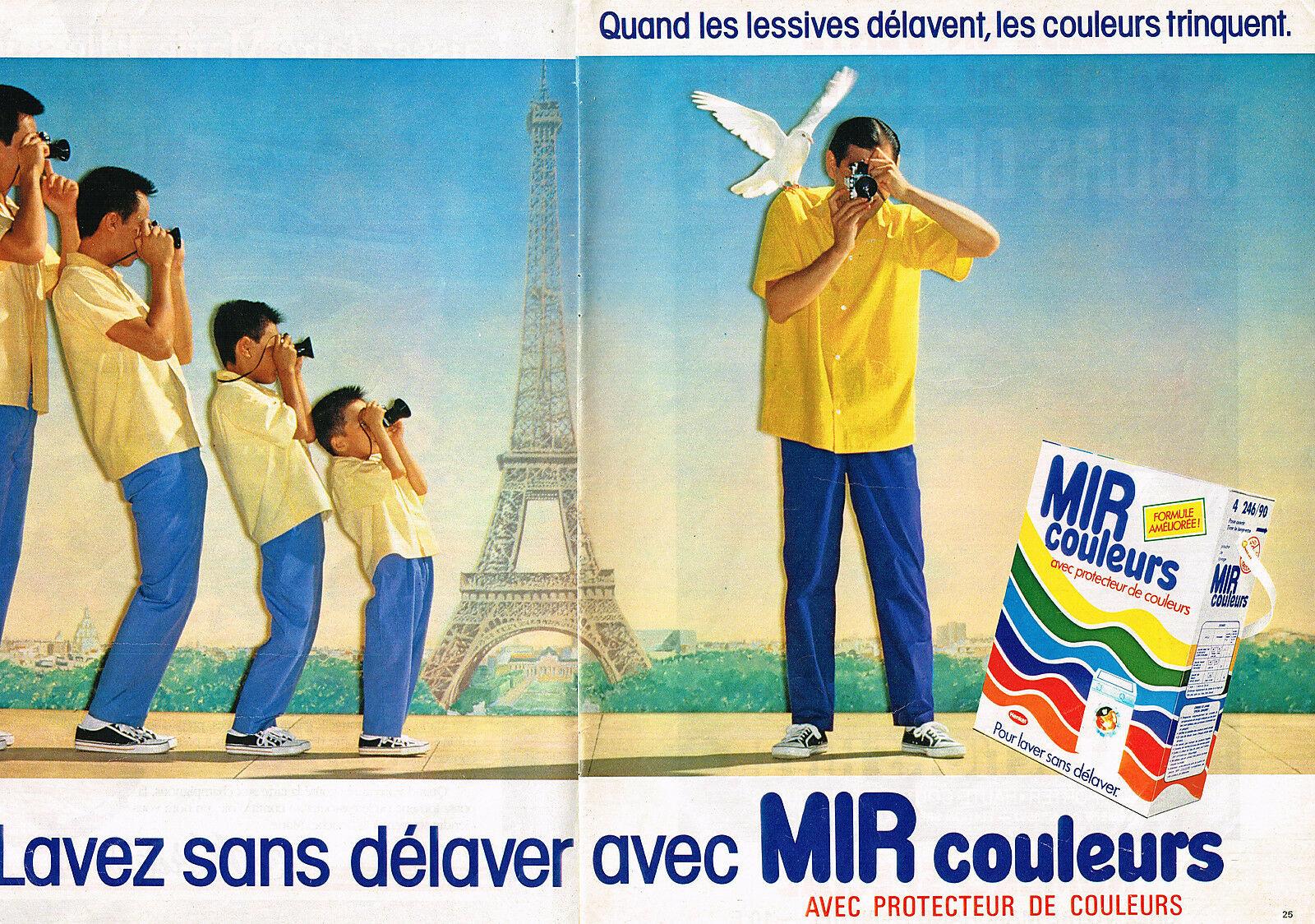 1984 La Lessive Mir Couleurs A3