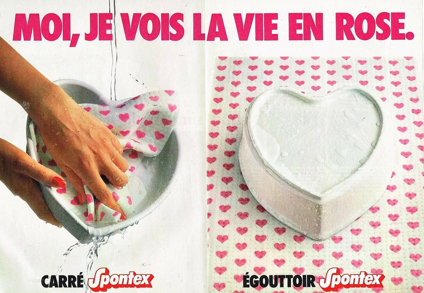1984 Les Eponges Spontex