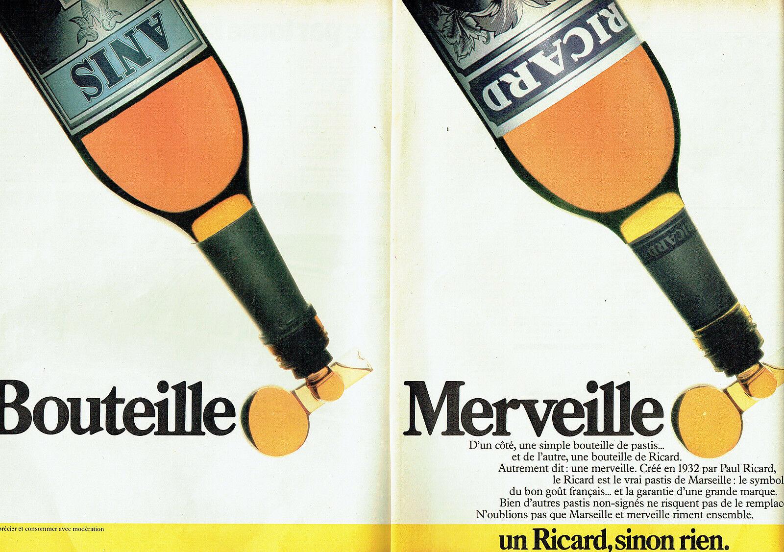 1984 Ricard Bouteille Merveille