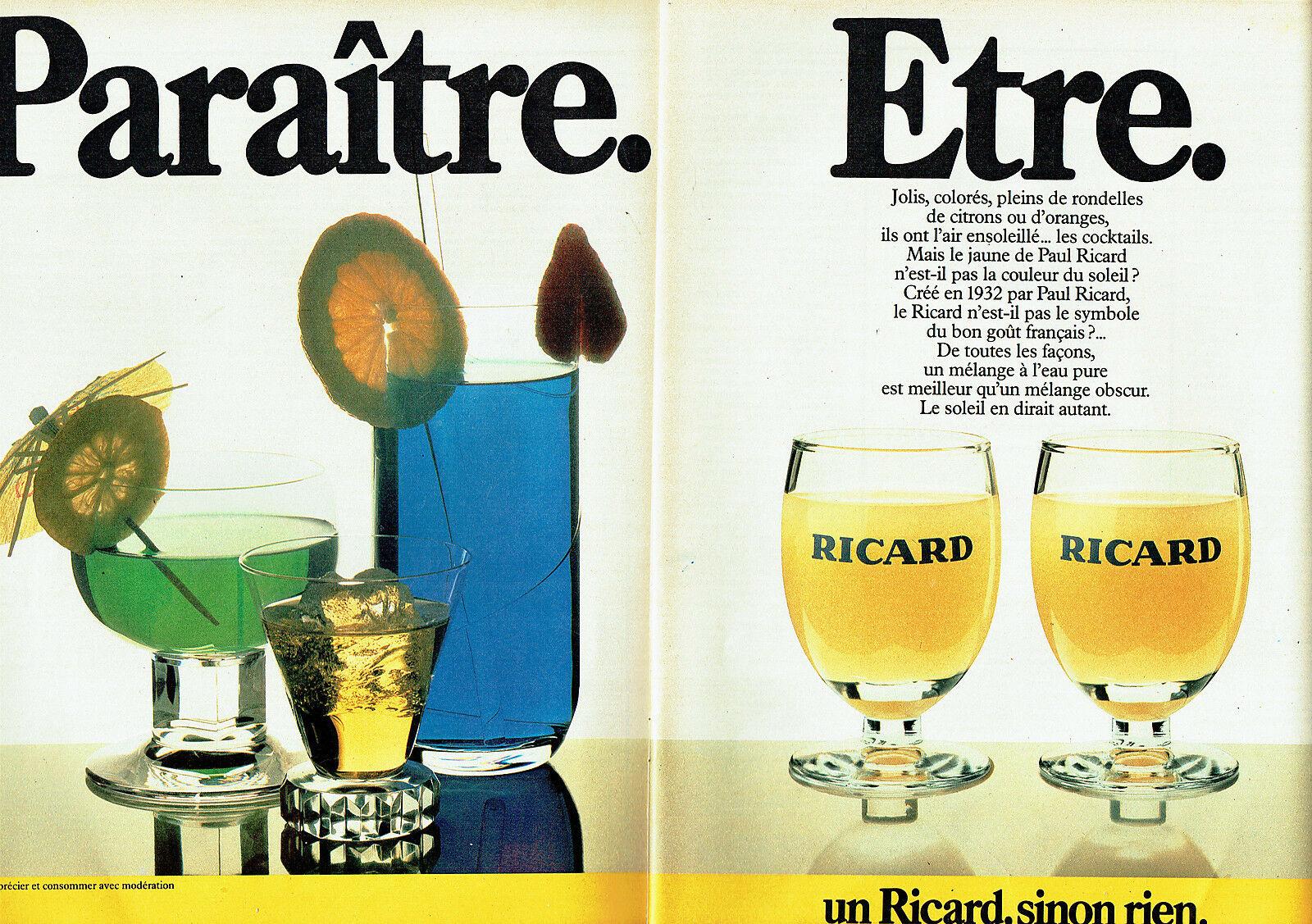 1984 Ricard Paraitre Etre