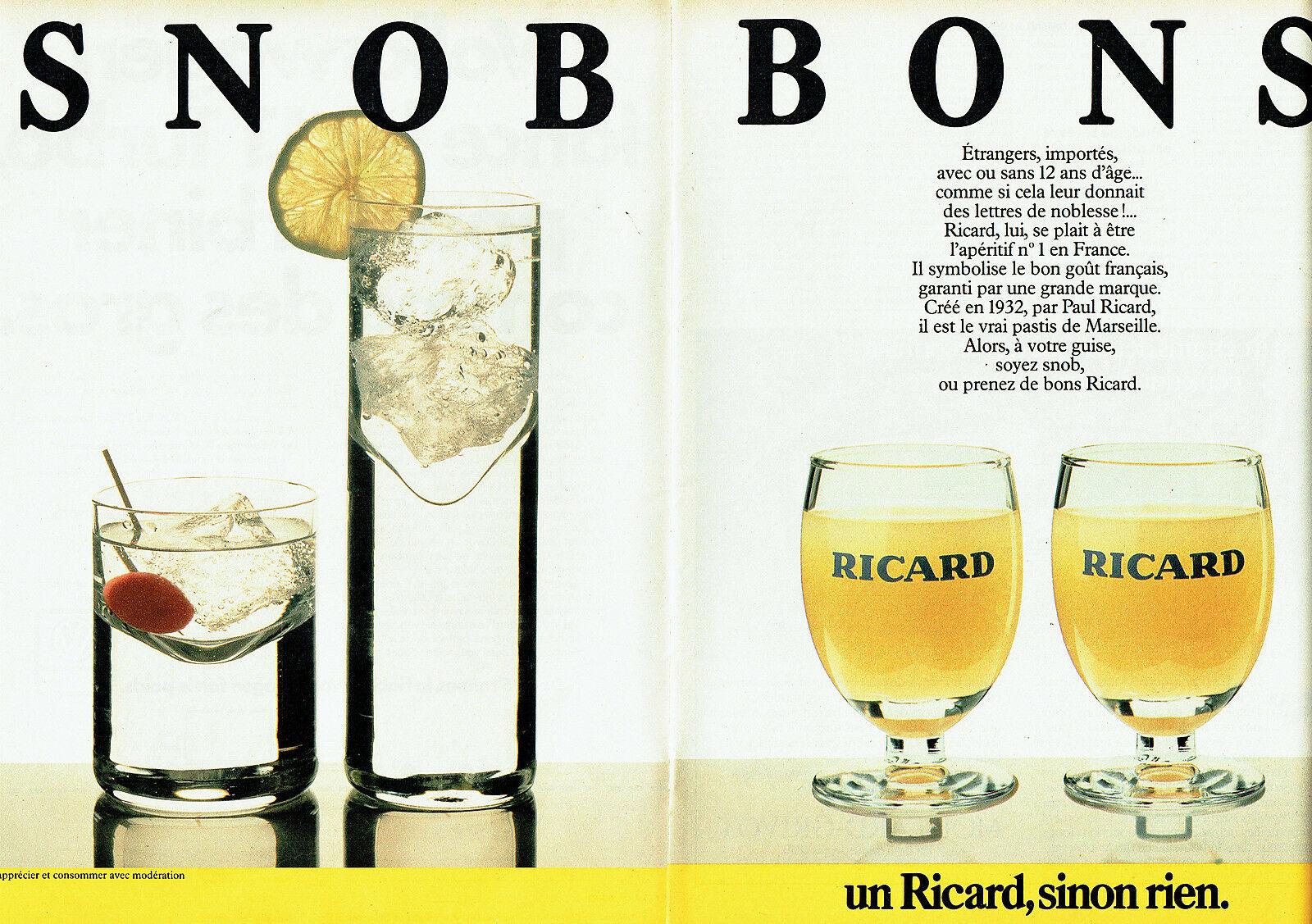 1984 Ricard Snobs bons