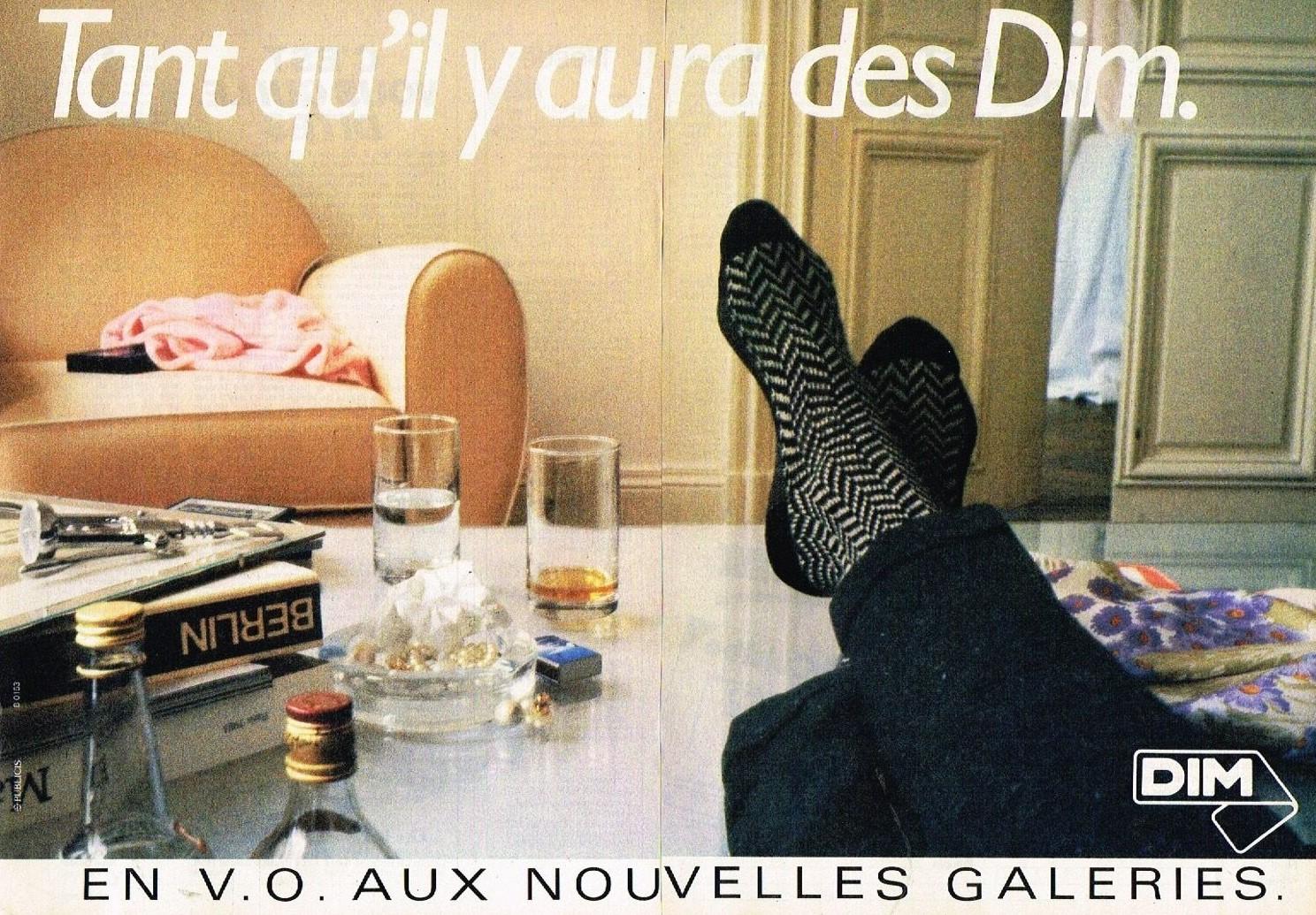 1985 Les Chaussettes DIM A1