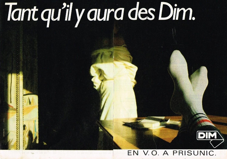 1985 Les Chaussettes DIM A2