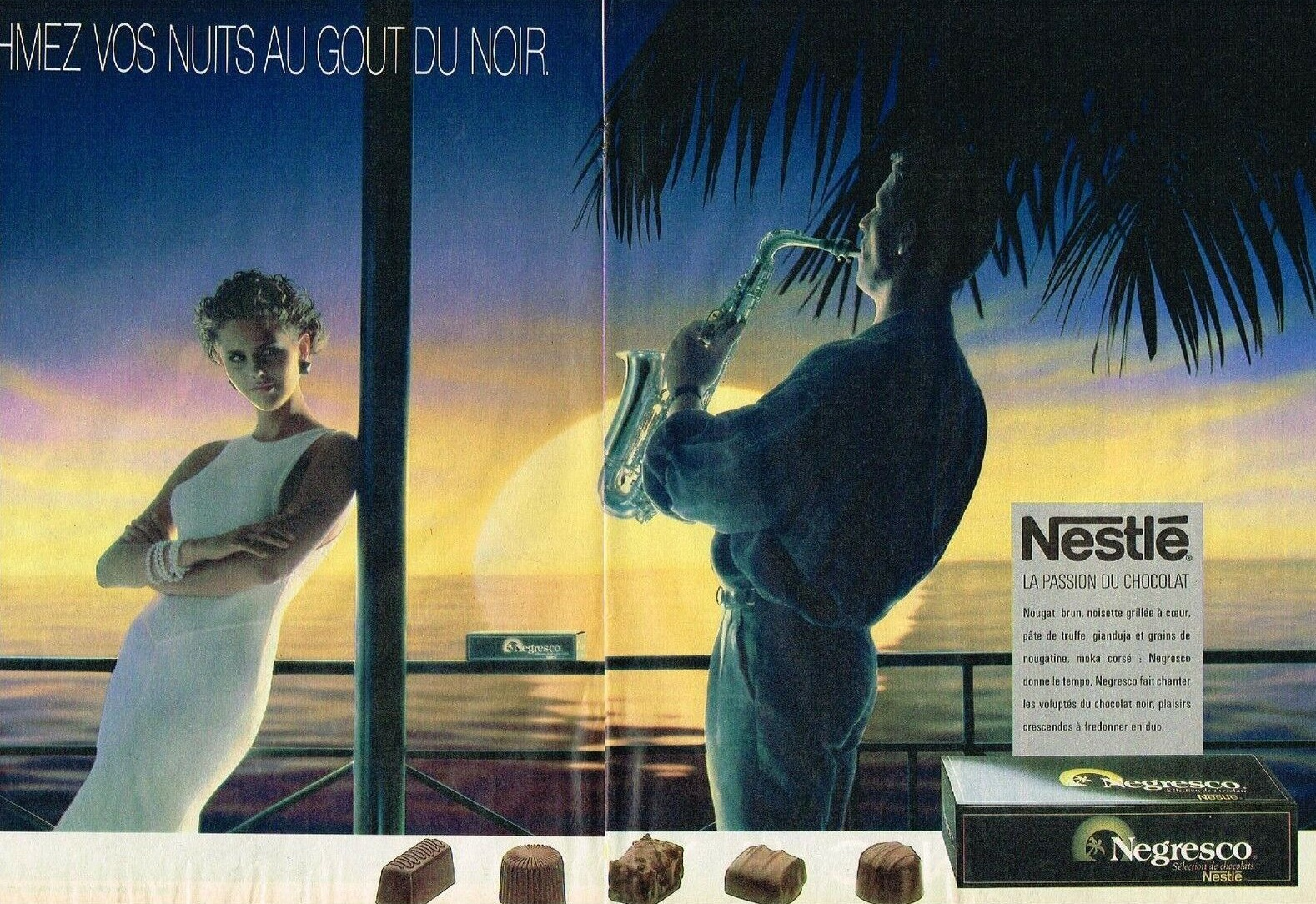 1985 NESTLE chocolat NEGRESCO